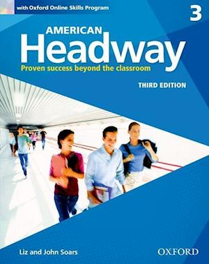 American Headway: Three: Student Book with Online Skills