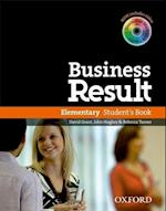 Business Result: Elementary: Student's Book with DVD-ROM and Online Workbook Pack