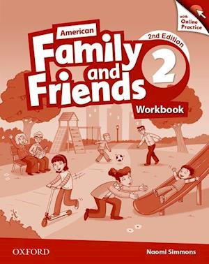 American Family and Friends: Level Two: Workbook with Online Practice