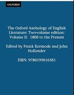 The Oxford Anthology of English Literature (The Oxford Anthology of English Literature, nr. 2)
