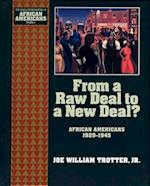 From a Raw Deal to a New Deal (The Young Oxford History of African Americans, nr. 8)