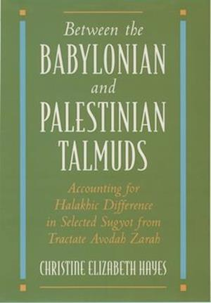 Between the Babylonian and Palestinian Talmuds