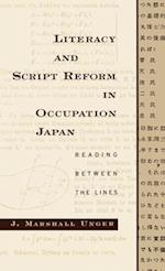 Literacy and Script Reform in Occupation Japan: Reading Between the Lines af J. Marshall Unger