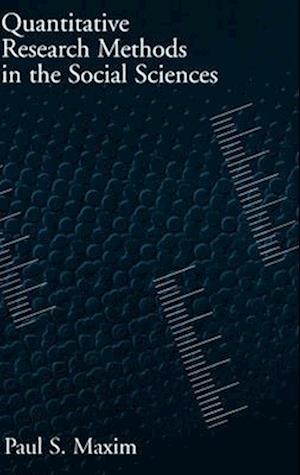 Quantitative Research Methods in the Social Sciences