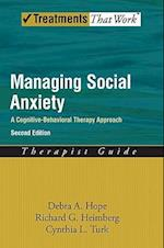 Managing Social Anxiety Therapist Guide: A Cognitive-Behavioral Therapy Approach