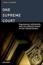 One Supreme Court af James E. Pfander