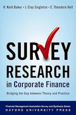Survey Research in Corporate Finance (Financial Management Association Survey and Synthesis Series)