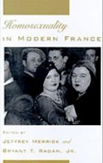 Homosexuality in Modern France (Studies in the History of Sexuality)
