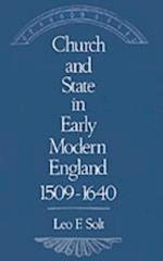 Church and State in Early Modern England, 1509-1640