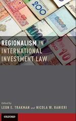 Regionalism in International Investment Law