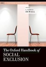 The Oxford Handbook of Social Exclusion af C. Nathan Dewall