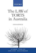 The Law of Torts in Australia af Peter Cane, Kit Barker, Mark Lunney