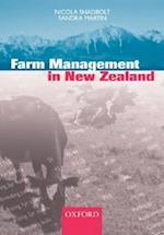 Farm Management In New Zealand af Sandra Martin, Nicola Shadbolt