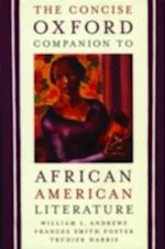 Concise Oxford Companion to African American Literature af Trudier Harris
