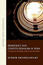Democracy and Constitutionalism in India