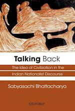 Talking Back af Sabyasachi Bhattacharya