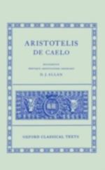 De Caelo af Donald James Allen, Aristotle
