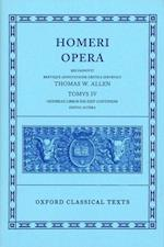 Homer Vol. IV. Odyssey (Books XIII-XXIV) (Oxford Classical Texts)