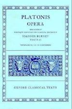 Plato Opera (Oxford Classical Texts)
