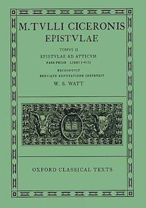 Cicero Epistulae. Vol. II. Part i