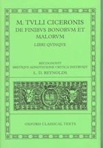 Cicero de Finibus Bonorum et Malorum af L D Reynolds, Marcus Tullius Cicero