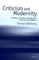 Criticism and Modernity
