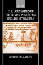 The Boundaries of the Human in Medieval English Literature af Dorothy Yamamoto