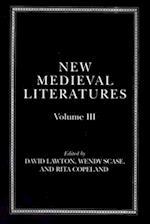 New Medieval Literatures