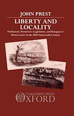 Liberty and Locality