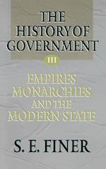 History of Government from the Earliest Times V3 Empires af Samuel E. Finer, S. E. Finer, Finer