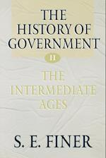 The History of Government from the Earliest Times af Samuel E. Finer