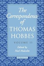 The Correspondence: Volume II: 1660-1679 (Clarendon Edition Of The Works Of Thomas Hobbes, nr. )