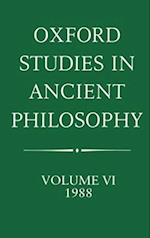 Oxford Studies in Ancient Philosophy (OXFORD STUDIES IN ANCIENT PHILOSOPHY)