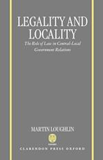 Legality and Locality af Martin Loughlin