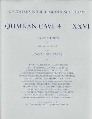 Discoveries in the Judaean Desert: Volume XXXVI: Qumran Cave 4: XXVI