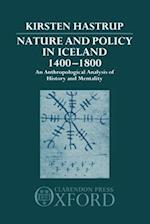 Nature and Policy in Iceland, 1400-1800