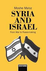 Syria and Israel af Moshe Ma'oz