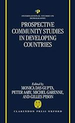 Prospective Community Studies in Developing Countries (International Studies in Demography)