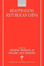 Reappraising Republican China (Studies on Contemporary China Oxford Paperback)