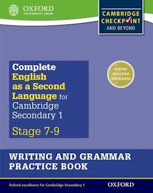 Bog, paperback Complete English as a Second Language for Cambridge Lower Secondary Writing and Grammar Practice Book af Alan Jenkins