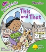 Oxford Reading Tree Songbirds Phonics: Level 2: This and That (Oxford Reading Tree)