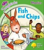 Oxford Reading Tree Songbirds Phonics: Level 2: Fish and Chips (Oxford Reading Tree Songbirds Phonics)