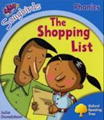 Oxford Reading Tree Songbirds Phonics: Level 3: The Shopping List (Oxford Reading Tree)