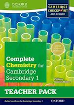 Complete Chemistry for Cambridge Secondary 1 Teacher Pack af Philippa Gardom-Hulme