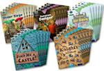 Project X Origins: Brown Book Band, Oxford Level 9: Knights and Castles: Class Pack of 30