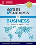 Exam Success in Business for Cambridge AS & A Level