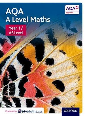 Bog, ukendt format AQA A Level Maths: Year 1 / AS Student Book af David Bowles