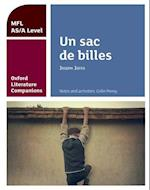 Oxford Literature Companions: Un sac de billes: study guide for AS/A Level French set text (Oxford Literature Companions)
