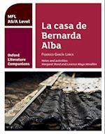 Oxford Literature Companions: La casa de Bernarda Alba: study guide for AS/A Level Spanish set text (Oxford Literature Companions)