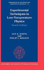 Experimental Techniques in Low-Temperature Physics